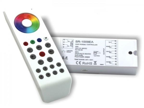 SR-1100SET LED Controller Komplett-Set 4x8A inkl. SR1100MKII FB Weiss