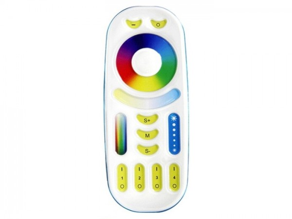 MI-092 LED Fernbedienung RGB+CCT-Controller 4 Zonen 2,4GHz