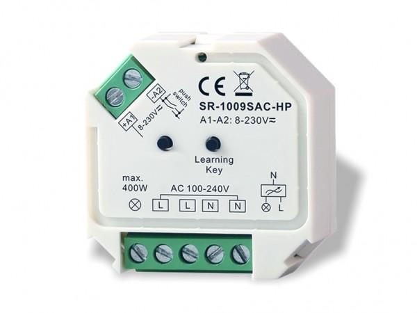 SR-1009SAC-SW 230V AC Funkschalter 400W 868MHz