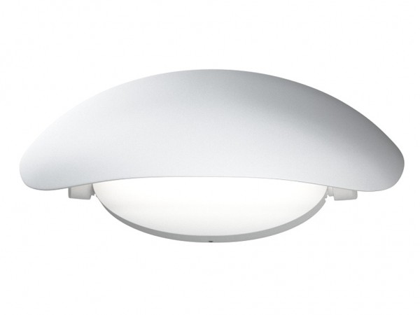 LED Aussenleuchte Endura Style Cover 12W 3000K IP44 Weiss