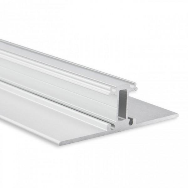 LED Alu-Profil YL13 (satiniert) ohne Blende 2m