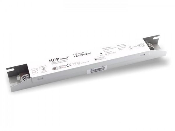 LAV-30-24V LED Kompaktnetzteil 24V / 30W constant voltage 1-10V dimmbar