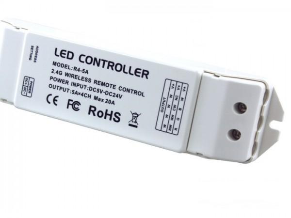 R4-5A Empfänger 4x5A für WIFI-104 System DC5-24V Konstantspannung