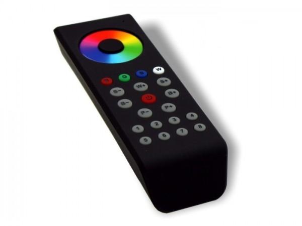 SR-1100 MKII LED Controller FB 8 Zonen RGBW Touchwheel Funk (868MHz) schwarz