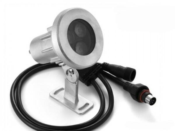 UW-24RGBW LED Unterwasserleuchte 24W 24VDC IP68