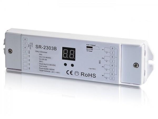 SR-2303B DALI LED Controller 4-Kanal 4x5A 12-36V