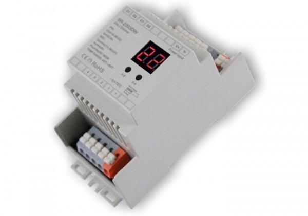 SR-2303DIN LED Controller 4-Kanal DALI Hutschiene