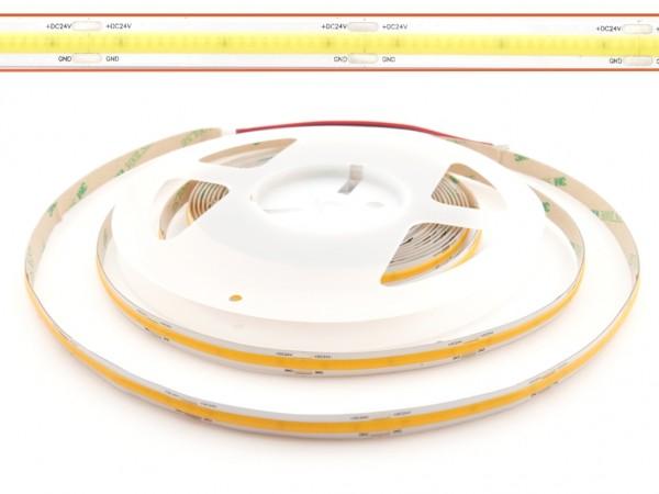 LED COB Flex Stripe 5m 528LED/m 6500K 24V CRI>90 Lichtlinie