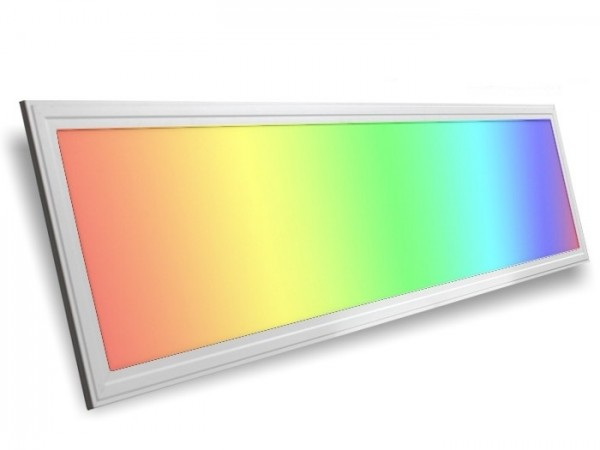LED Panel 1200x300x9,5mm, RGB+CCT, 30W, 24VDC