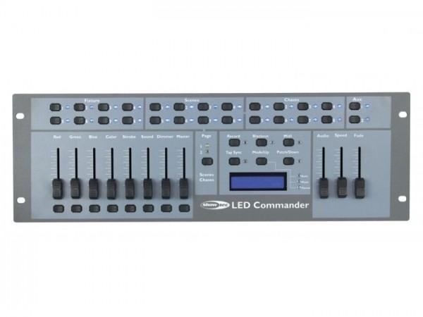 LED COMMANDER DMX 128 Kanal RGBW 8 Geräte 16 Szenen