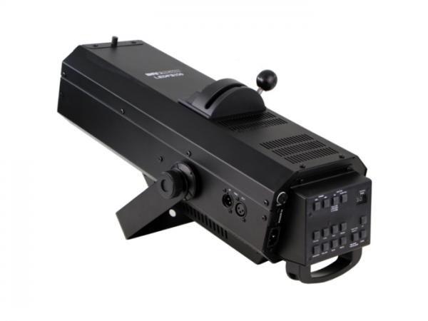 FS150 LED Verfolger Spot 150W, 14°-20°, Dimmer, Farbrad, DMX