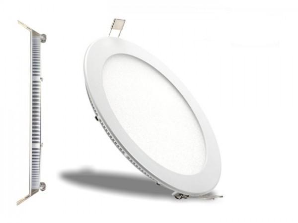 LED Panel Ø 170mm, 6500K, 12W, 970lm, CRI Ra>81, inkl Netzteil
