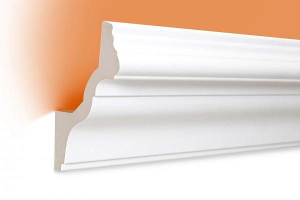 LED Stuckprofil Typ: 6 - 130x100mm PU 2m Länge lichtundurchlässig überstreichbar