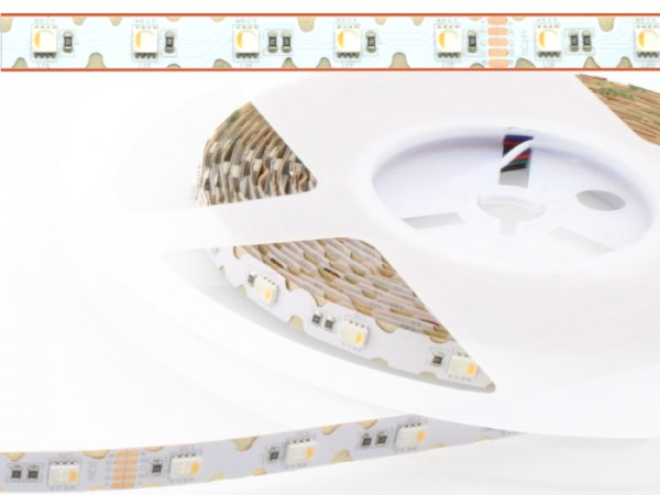 LED Flex Curve RGB-WW Stripe 5m 48LED/m 5050SMD CRI RA >80 24V IP20