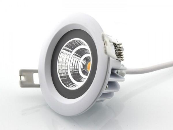 DL-CND-8IP LED Einbaudownlight IP65 2000-3000K CND Technik 8W 230V dimmbar 650lm