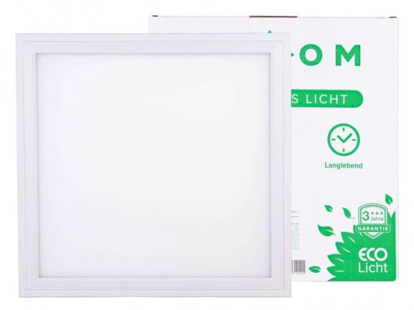 LED Panel 295x295x9mm, 18W, 1440lm, CRI Ra>80, inkl Netzteil