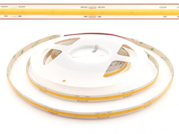 LED COB Flex Stripe 5m 528LED/m 2700K 24V CRI>90 Lichtlinie