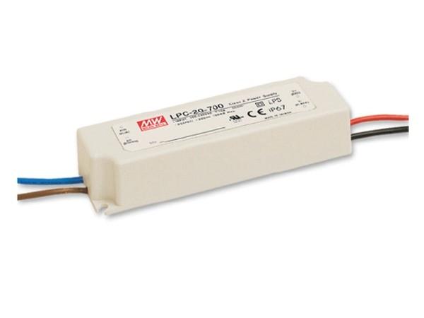 LPC-20-350 Konstantstrom Netzteil (CC) 20W 350mA