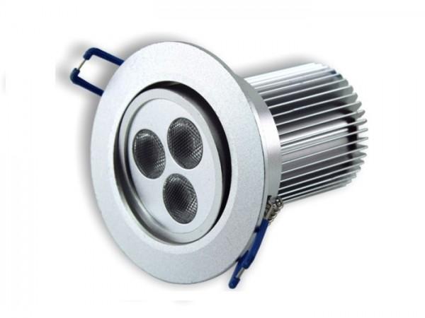 DL-24RGBW LED Einbaudownlight RGBW Farbmischung 24W, inkl. Vorschaltgerät