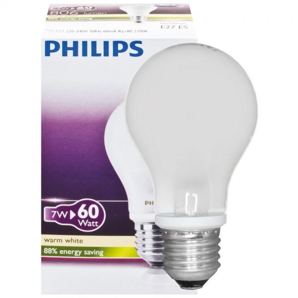 LED Leuchtmittel AGL-Form matt, 7W, 806lm, 15.000h