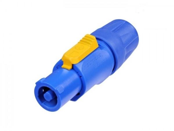 NAC 3 FCA powerCON Kabelstecker 230V verriegelbar blau IN