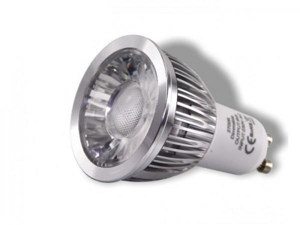 LED Leuchtmittel 6W COB SHARP GU10 2700K 410lm dimmbar