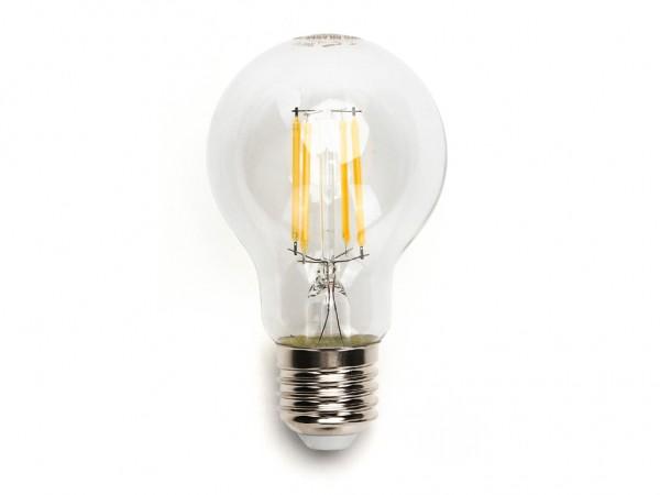 LED Filament Leuchtmittel E27 A60 8W 6500K kaltweiss