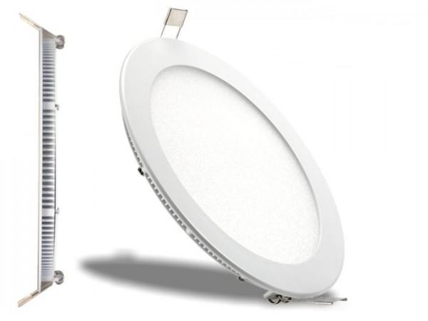 LED Panel Ø 225mm, 6500K, 18W, 1350lm, CRI Ra>81, inkl Netzteil