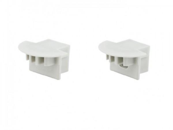 LED Profil *PDS-4K* Abschlusskappe mit Loch