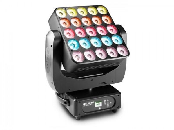 AURO MATRIX 500 25x 15W Moving LED Matrix RGBW 8-111 DMX Kanäle 360°-Rotation