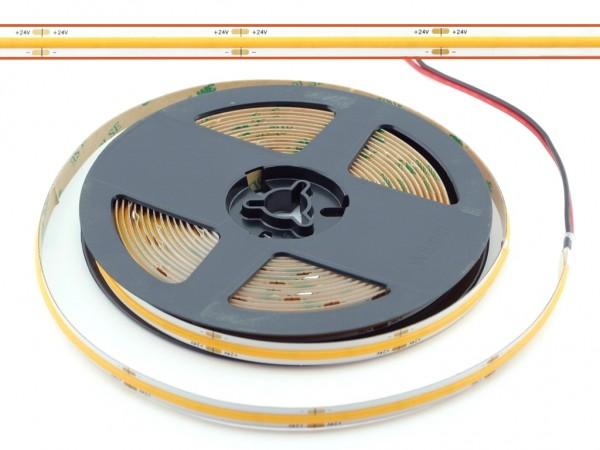 LED COB Flex Stripe 5m 378LED/m 2700K 24V CRI>90