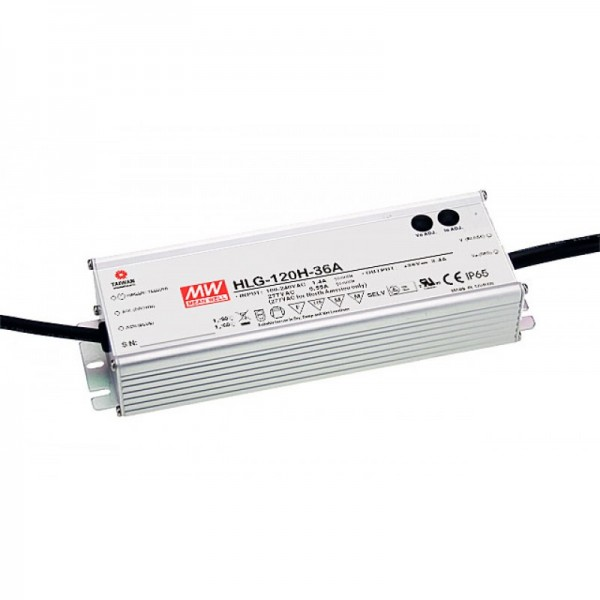 HLG-120-24B Netzteil 24V / 120W dimmbar constant voltage