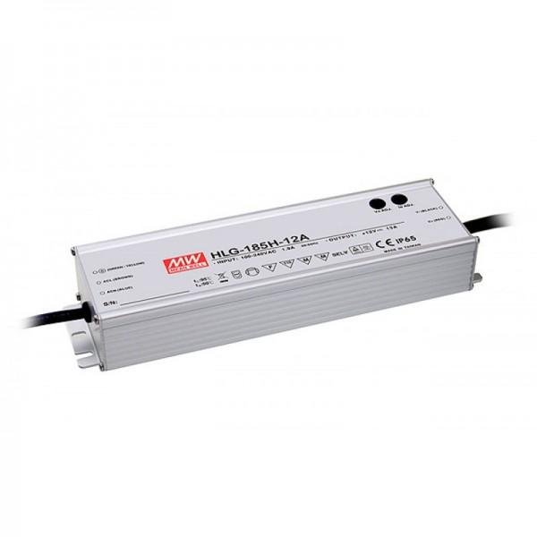 HLG-185-12B Netzteil 12V / 185W dimmbar constant voltage