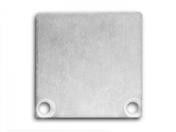 Endkappe (Paar) E47 Aluminium für Alu-Profil YN6/YN7 - C10