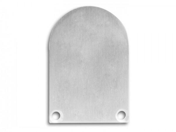 Endkappe (Paar) E50 Aluminium für Alu-Profil YN6/YN7 - C13