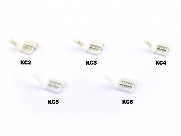 KC-6 LED Stripe Adapter 6-polig