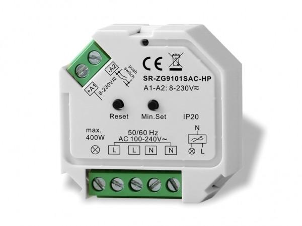 SR-9101SAC-HP ZigBee 1-Kanal 230V Dimmer 400W