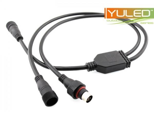UW-1/2 Y-Adapterkabel 24VDC 1m IP68 für UW-Serie