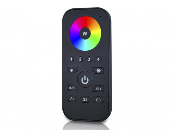 SR-ZG2819S-RGB ZigBee LED Controller 3-Kanal RGB Funk 2,4Ghz Schwarz