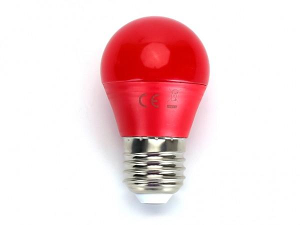 LED Leuchtmittel A5 G45 4W E27 Rot