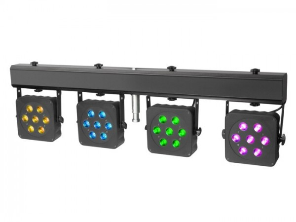 MultiPAR2 Kompakte 28 x 3 W Tri Colour LED Lichtanlage inkl. Transportcase