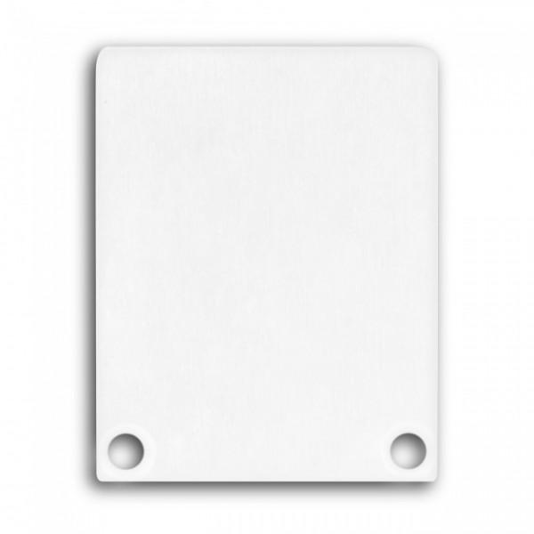 Endkappe (Paar) E45 Aluminium für Alu-Profil YN4/YN5 - C12