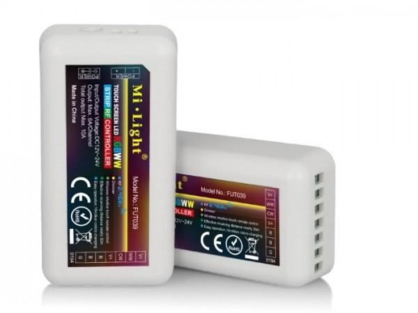 MI-039 LED Empfänger RGB+CCT-Controller 2,4GHz, max. 10A