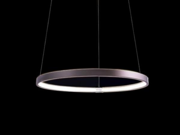 ELARO 400 LED Pendelleuchte silber 3000K 15W Ø 400mm