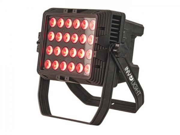 LEDARCH-2410 LED Aussenfluter 24x10W RGBW DMX IP65 37100LUX@1m 25°