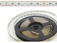 LED Flex Stripe 5m RGBW-XC 60x 4-in1 LEDs/m RGB+warmweiss 24V