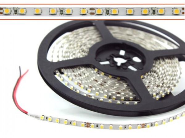 LED Flex Stripe 5m 3528 SMD 5mm NarrowWIDE 120LEDs/m 24V 4200K 800lm/m