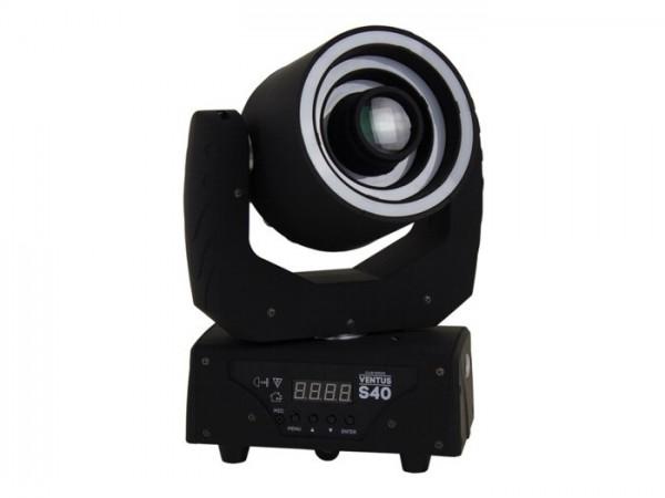 VENTUS S40 LED Moving Head 40W 3 Effektringe 23 DMX Kanäle