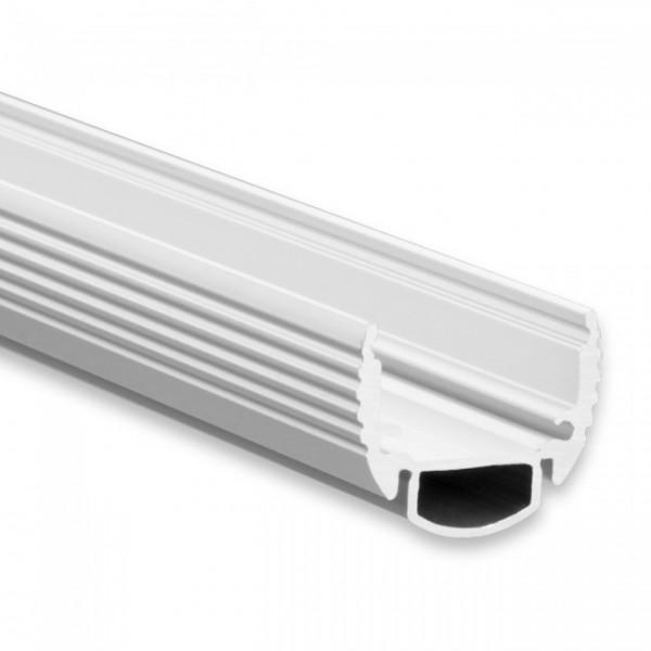 LED Alu-Profil YL9 (satiniert) ohne Blende 2m