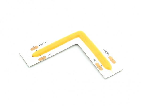 LED COB Flex Stripe L-Verbinder 528LED/m 2700K 24V CRI>90